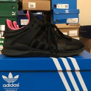 Adidas EQT Support - Black/Pink - Size 11
